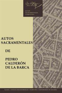 Portada de los Autos Sacramentales de Calderón